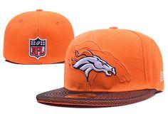 3c1ab4199b4 Denver Broncos NFL Sideline Fitted Hats 59FIFTY Cap