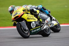 From Vroom Mag... Seventh podium of the season for Alex Rins at Silverstone, Luis Salom 17th