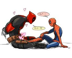 DPSPログ2 [7] Spideypool Deadpool Spiderman