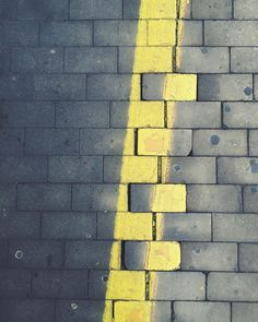 do not cross the yellow line by liviasala