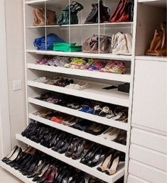 Master closet 65 the best shoes rack design ideas that are trending today 40 How Ozone Air Purifiers Walking Closet, Bedroom Closet Design, Master Bedroom Closet, Closet Designs, Best Shoe Rack, Shoe Cupboard, Regal Design, Closet Remodel, Rack Design