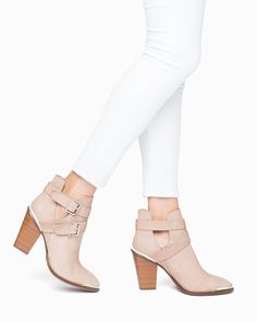 LOVE these booties! in taupe or black