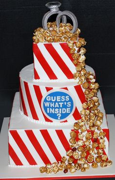 Cracker Jack Wedding Cake