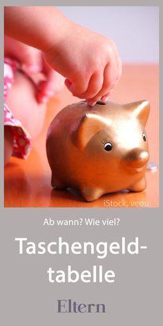 Taschengeld, ja, aber ab wann? Und wie viel ist angemessen? Wir haben alle Informationen samt Taschengeldtabelle für euch zusammengestellt, #taschengeld #kinder #taschengeldtabelle