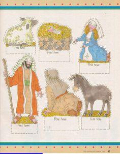 Symbols of Christmas  Printable nativity
