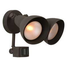 Exteriors by Craftmade Z402PM Outdoor Flood Light with Motion Sensor - Z402PM-0