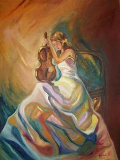 60 X 80cm oil painting  (artwork  Marietta Vasilaki )