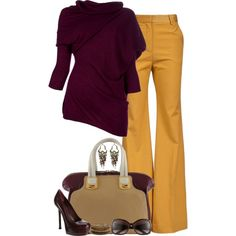 """Fall for Yellow"" by partywithgatsby on Polyvore!   top & shoe i like : )"
