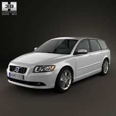 Volvo V50 2011 3d model from humster3d.com. Price: $75