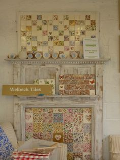 Welbeck Tiles – A Chance Meeting! Cottage Style, Farmhouse Style, Farmhouse Kitchens, Build A Fireplace, Granny Chic, Creative Inspiration, Creative Ideas, Mosaic Art, My Dream Home