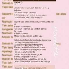 Yuk baca puisinya di http://novelta.blogspot.com