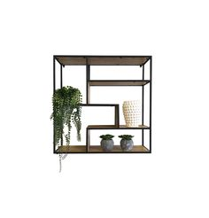 Dice Bookcase C - Shelves In Veneered Oak - Metal Painted Black - Assembled Furniture Care, Lounge Furniture, Leather Furniture, Oak Shelves, Shelving, Stainless Steel Cleaner, Professional Upholstery Cleaning, Leather Lounge, Modern Wall