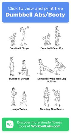 Home Weight Workout, Weight Workouts, At Home Workout Plan, Easy Workouts, At Home Workouts, Dumbbell Leg Workout, Free Workout, Workout Ideas, Exercises