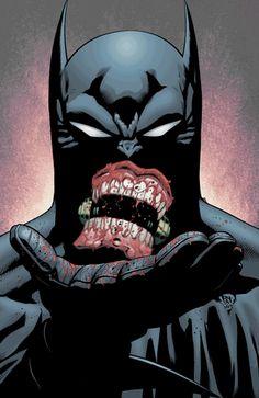Batman Comics Turned Into Creepy GIF Art | The Creators Project