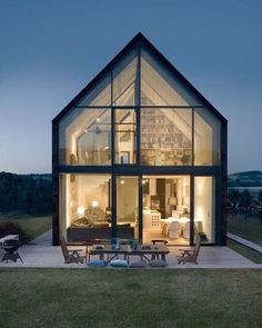 Discover the Best Latest Glass House Designs Ideas at The Architecture Design. Visit for more images and ideas about Glass House Designs Ideas. Residential Architecture, Interior Architecture, Beautiful Architecture, Movement Architecture, House Architecture Styles, Farmhouse Architecture, Japanese Architecture, Sustainable Architecture, House Goals