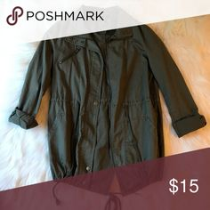00e83db2b9d6 Shop Women s Forever 21 Green size S Utility Jackets at a discounted price  at Poshmark.