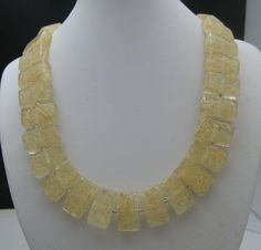 Signed Sobral Jackie Brazil Lucite Necklace from antiquesalad on Ruby Lane