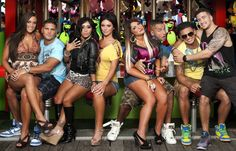 'Jersey Shore' cast reacts to Sandy's devastation at Seaside Heights