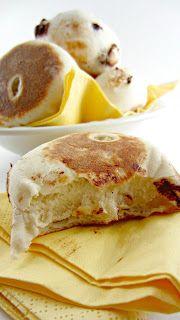 Muffins Anglais Noix et Chocolat  #brunch #petit-dejeuner #boulangerie