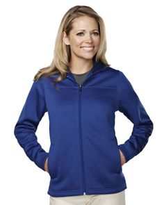 Womens Mesh Face Polyester Fleece Hooded Jacket. Tri mountain 7336 #greatoffer #OOTD #fashion #newlook #fresh