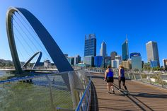 Re-connecting the city to the Swan River, the new Elizabeth Quays opened on January 29, 2016.