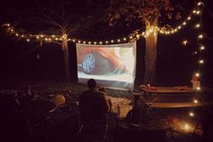 Backyard Movie Night! (Create a movie screen for $10!)
