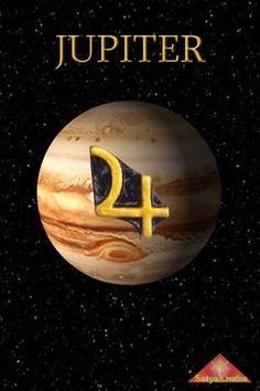 Jupiter Pendant, planet Jupiter, solar system, necklace, handmade, available on Etsy, Satya Creation.