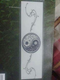 Yin yang sepatador de paginas