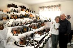To grow old with the love of my life and a Christmas Village display... that is all I need. :)