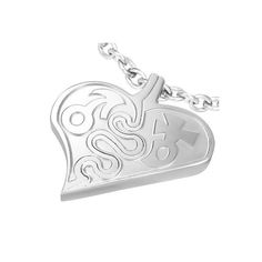 """Edelstahlanhänger """"Herzpuzzle"""" mit Geschlechtssymbolen    Farbe silber    Der Preis bezieht sich auf den Anhänger alleine.    Wunderschöner Edelstahla"""