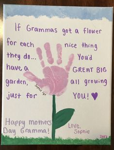 grandparents day crafts for preschoolers [DIY and crafts]Mothers Day Crafts for grandma Grandparents Day Crafts, Grandma Crafts, Grandmas Mothers Day Gifts, Mothers Day Crafts For Kids, Grandparent Gifts, Fathers Day Crafts, Mothers Day Cards, Diy For Kids, Mother Day Gifts