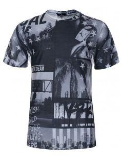 Twisted Soul Optic White California T-Shirt, £15