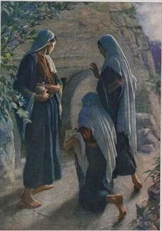 """Matthew 28:5-6   then the angel said to the women in reply, """"Do not be afraid! I know that you are seeking Jesus the crucified.  He is not here,  for He has been raised just ad He said. Come and see the place where He lay""""..."""