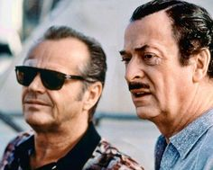 "Jack Nicholson y Michael Caine en ""Blood & Wine"", 1996"