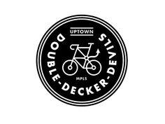 Mpls Bike Gangs / Double Decker Devils  by Allan Peters