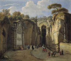 La Grotta di Posillipo (Nápoles), Caspar van Wittel