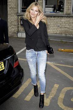 La Modella Mafia Kate Moss Style Icon Fashion Boyfriend Jeans Street Style Style