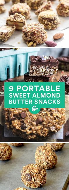 Whip up a smoothie, bake some muffins, or get creative in the freezer. #healthy #almondbutter #snacks http://greatist.com/eat/almond-butter-snack-recipes