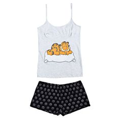 Discover our new Spring-Summer women's underwear collection: bras, panties, bikinis, swimsuits, and lingerie. Cute Pajama Sets, Cute Pjs, Cute Pajamas, Cute Sleepwear, Girls Sleepwear, Cute Lazy Outfits, Girl Outfits, Pijama Disney, Girls Fashion Clothes