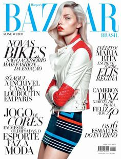Capa da Bazaar Brasil de julho!