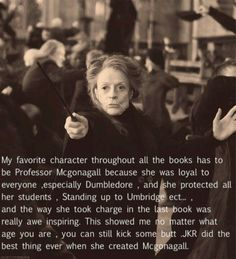 Love this. ESP since it was Maggie Smith who played her.