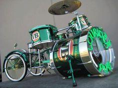 bike drum =) or drum bike... motodrumbike
