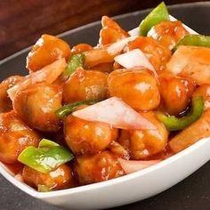 Cómo hacer pollo agridulce chino