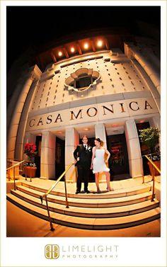 CASA MONICA Wedding, Bride and Groom, Night, Limelight Photography, Wedding Photography, www.stepintotheli...