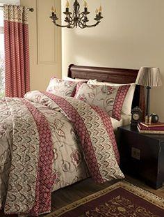 From 3.99:Catherine Lansfield Kashmir Double Duvet Set - Multi-colour | Shopods.com