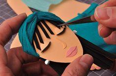 paper cut illustrations