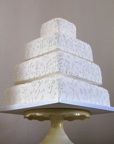 Making a Wedding Cake : 21 Steps (with Pictures) - Instructables How To Make Wedding Cake, Black And White Wedding Cake, Petal Dust, Edible Glue, Smooth Cake, Cake Tins, Sugar Flowers, Cake Batter, Fondant