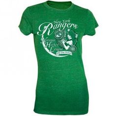 save off 922bb bc946 Old Time Hockey Philadelphia Flyers Women s Durrow St. Patrick s Day Slim  Fit T-Shirt - Kelly Green