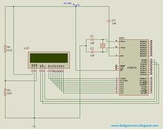 interfacing 16x2 lcd with 8051 microcontroller circuit diagram, 8 bit, line  chart, programming