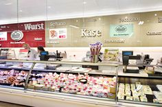 In-store digital signage for food retail sector